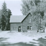 The Owen Wister Cabin on the old R Lazy S. Jackson Hole Historical Society & Musuem