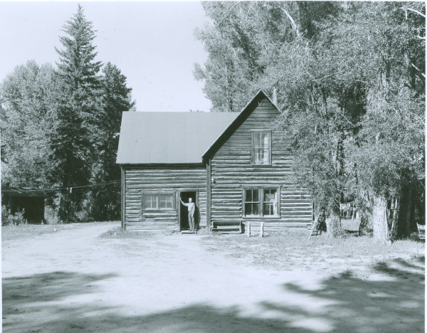 The Owen Wister Cabin On The Old R Lazy S. Jackson Hole Historical Society U0026