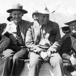 """Snake River Land Company Crew"" Harold Fabian on far right. Jackson Hole Historical Society & Museum."