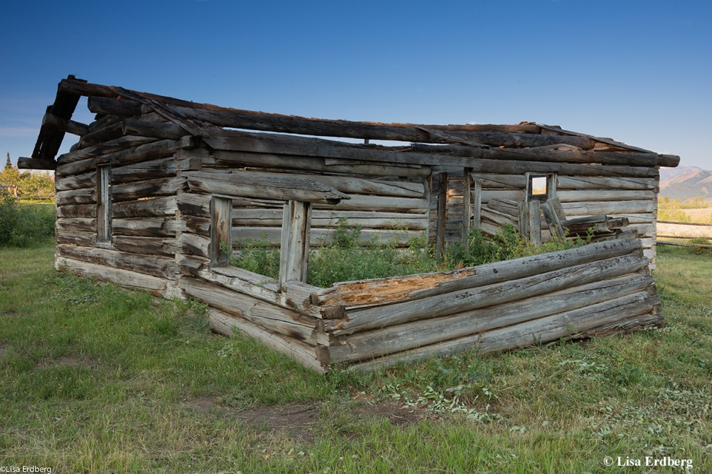 Luther Taylor Homestead: Taylor Cabin