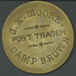 Camp Brown $1 token (Front)