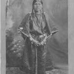 Daughter of Chief Washakie 1890