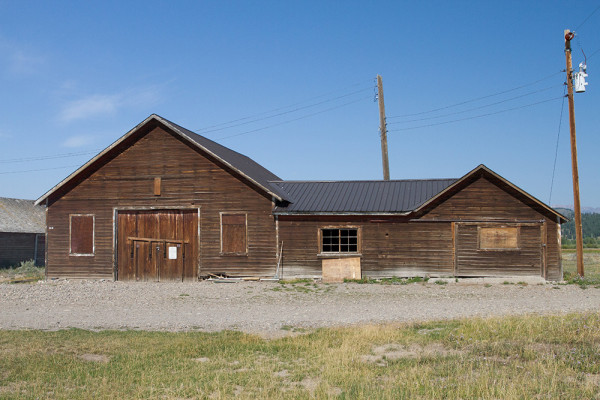 Storage Buildings At The Elk Ranch. Photo By Samantha Ford