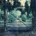 The old R Lazy S Ranch gate. Courtesy of the R Lazy S Ranch.