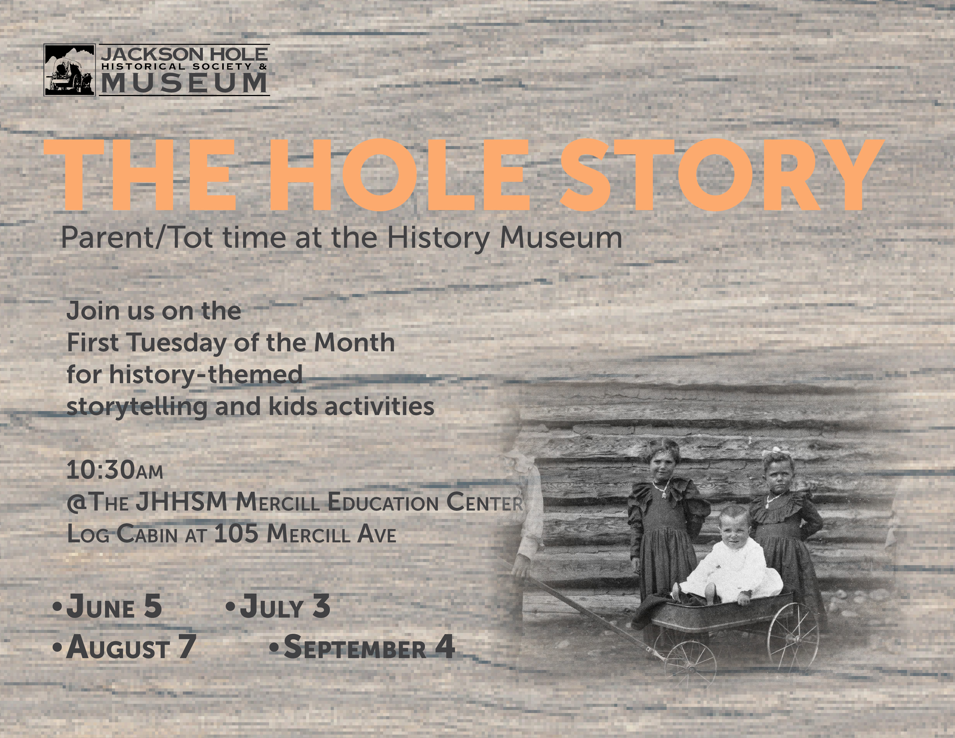 welcome to jackson hole historical society and museum