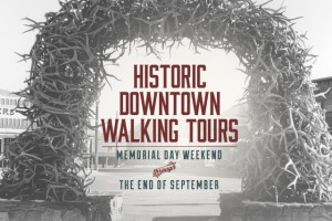 Historic Downtown Walking Tours @ Center of Town Square | Jackson | Wyoming | United States