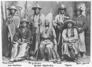 Chief Washakie and Shoshone Leaders