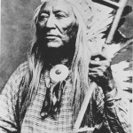 Washakie with shell tie and scarf