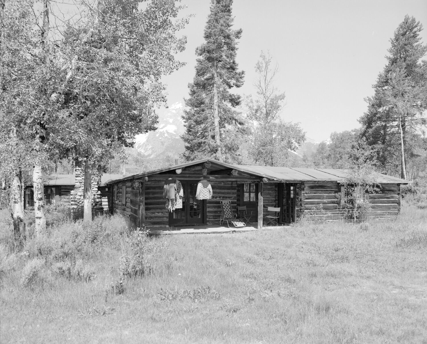 Bar BC Main Cabin. Collection Of The Jackson Hole Historical Society And  Museum