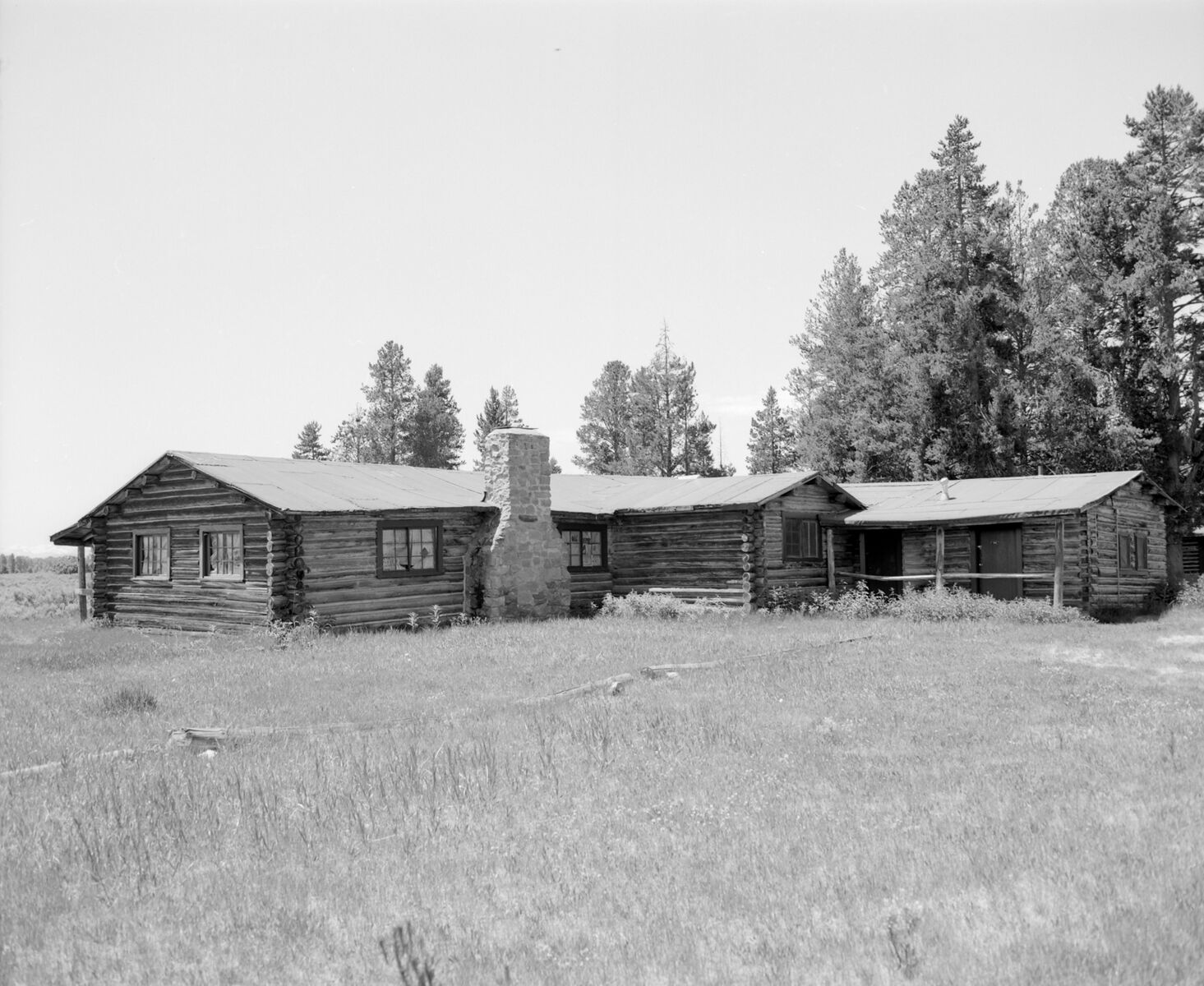 Bar BC Corse Cabin. Collection Of The Jackson Hole Historical Society And  Museum