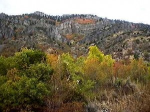 Blacksmith's Fork Canyon in Utah