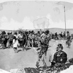 138. Shoshone Wolf or War Dancers
