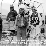 "179. ""The Indian Mode of Transportation Pioneer Days Lander Wyo. 1939"