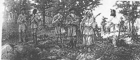Fig 20: Lewis and Clark at Three-Forks