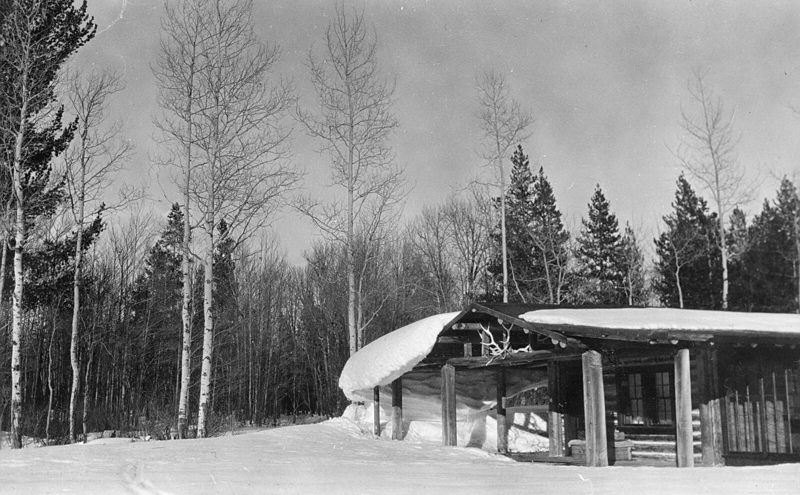Geraldineu0027s Cabin At Lucas Fabian Homestead. Collection Of The Jackson Hole  Historical Society And