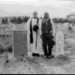 51. Rev. John Roberts and at Sacajawea Cemetery – dedication of monument donated by Wadsworth