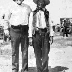 "97. ""Edmo Le Clair Gen. Custer's Scout. Enos, Flathead Chief, age 103 Riverton Wyo."""