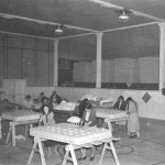 100. Interior of mattress factory – Arapahoe women