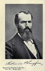 Nathaniel P. Langford, about 1870 https://en.wikipedia.org/wiki/Nathanie l_P._Langford