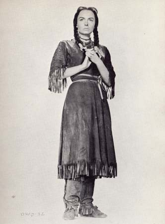 Fig 5: Donna Reed as Sacagawea