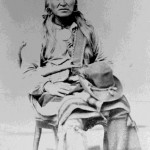 120. Washakie portrait seated hat on lap informal