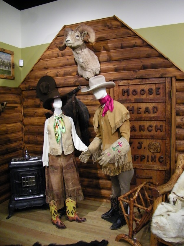 Jackson Hole Dude Ranching Exhibit