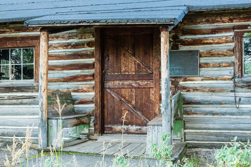 Maud Noble Cabin: Front Door
