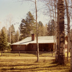 The old Aspen S Ranch main lodge. Courtesy of the R Lazy S Ranch.