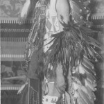 Charles Moore Dressed as Indian
