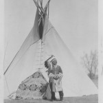 D. Washakie Outside His Tepee