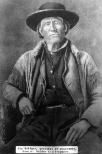 Jim Bridger. Photo courtesy of the Denver Public Library.