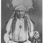 Man with Horn Headress