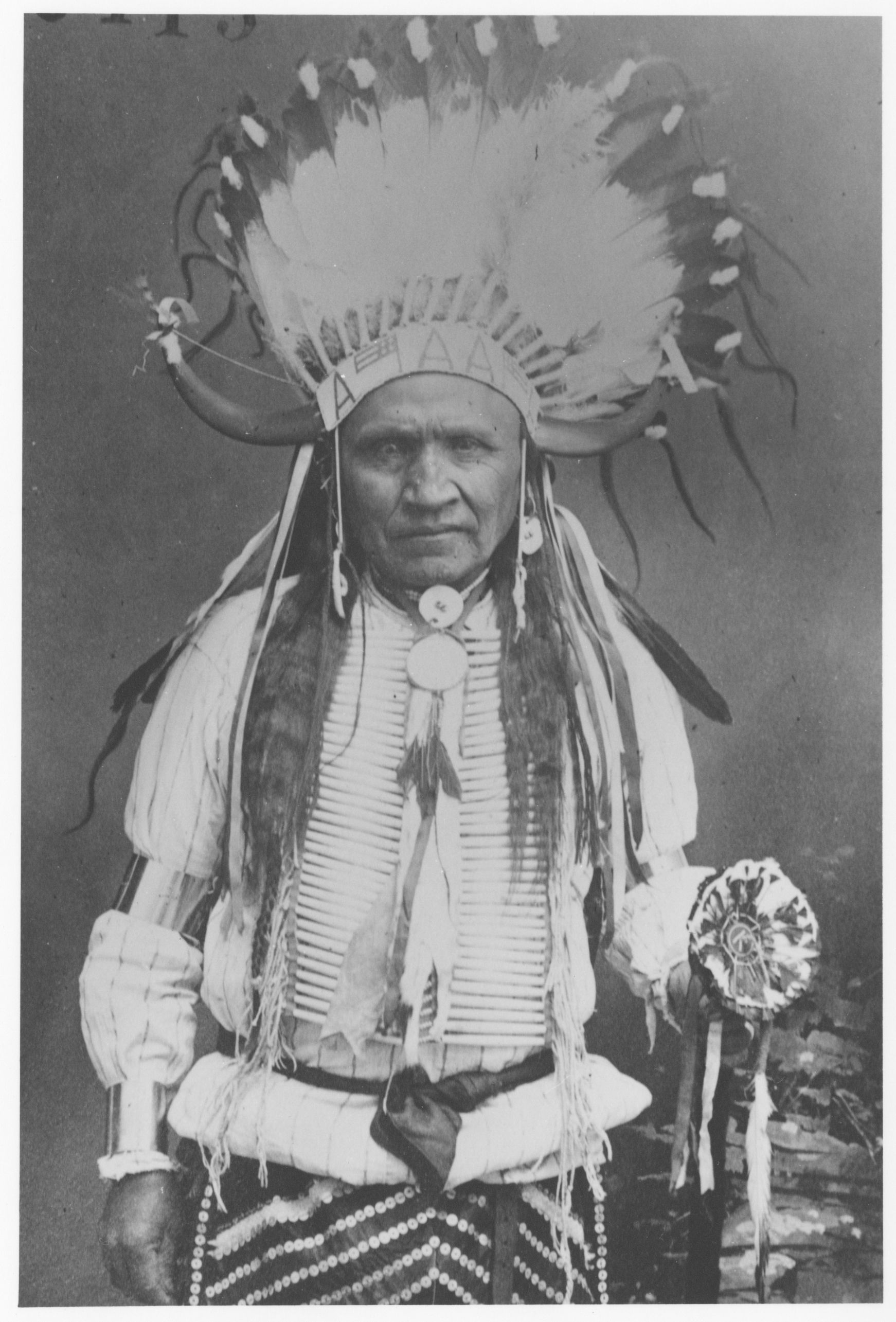 Wind River Dancer With Horn Headress