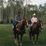 Kelly and Nancy Stirn. Courtesy of the R Lazy S Ranch.