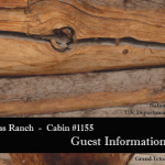 Cabin 1155 Guest Booklet