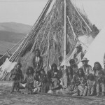 Summer 1884 Washakies camp