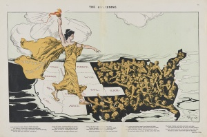 The Awakening Illustration by Henry Mayer from Library of Congress 1915
