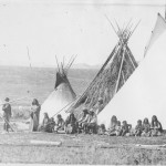 Washakie Camp handsaw 1870