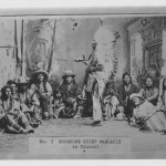 Washakie and chiefs in council