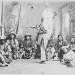 Washakie and chiefs in studio (2)