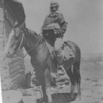 Washakie on Horseback