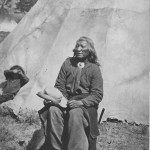 Washakie seated