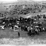 147. Rational day for beef at Fort Washakie