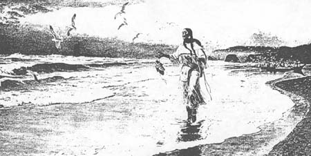 Fig 23: Sacajawea at the Big Water