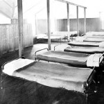 203 Beds in boys dormitory St. Michaels
