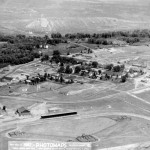 94. Aerial view – Fort Washakie