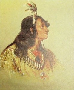 Mohwoomha/Little Chief—by the painter Alfred Jacob Miller